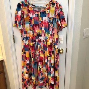 Disney Amelia Castle Dress, 3x, New very htf!